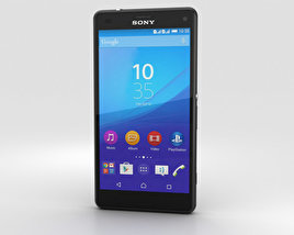 3D model of Sony Xperia A4 SO-04G Gray