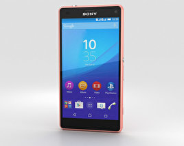 Sony Xperia A4 SO-04G Pink 3D model