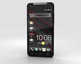 3D model of HTC J Butterfly Black