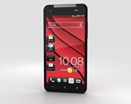 3D model of HTC J Butterfly Red