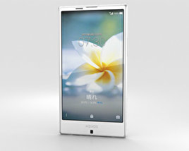 3D model of Sharp Aquos Serie SHV32 White