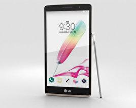 LG G Stylo White 3D model