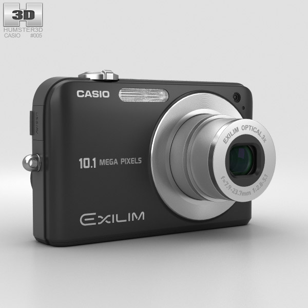 3D model of Casio Exilim EX- Z1050 Black