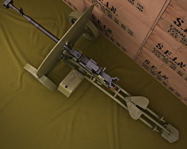 3D model of DShKM