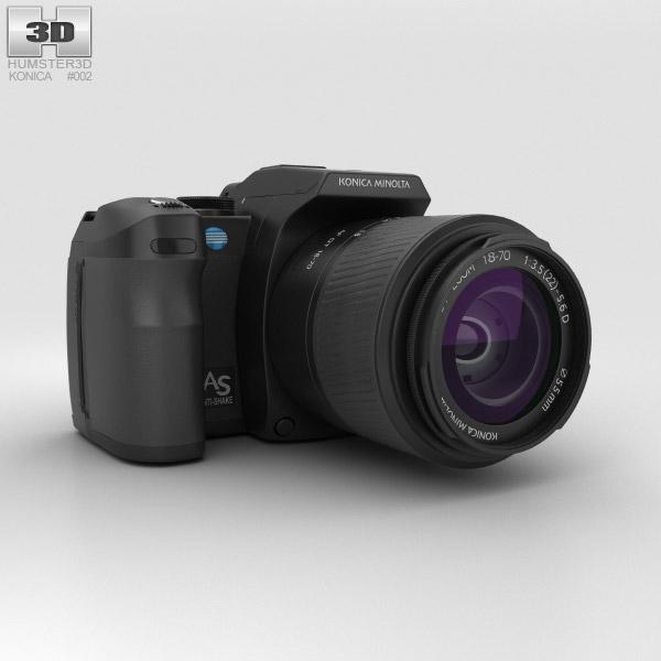Konica Minolta Maxxum (Dynax) 5D 3D模型