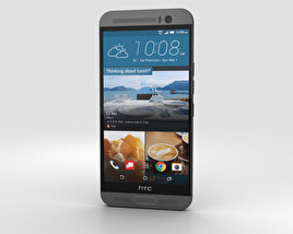 HTC One M9+ Gunmetal Gray 3D model