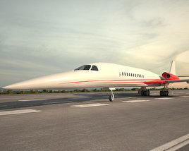 3D model of Aerion AS2