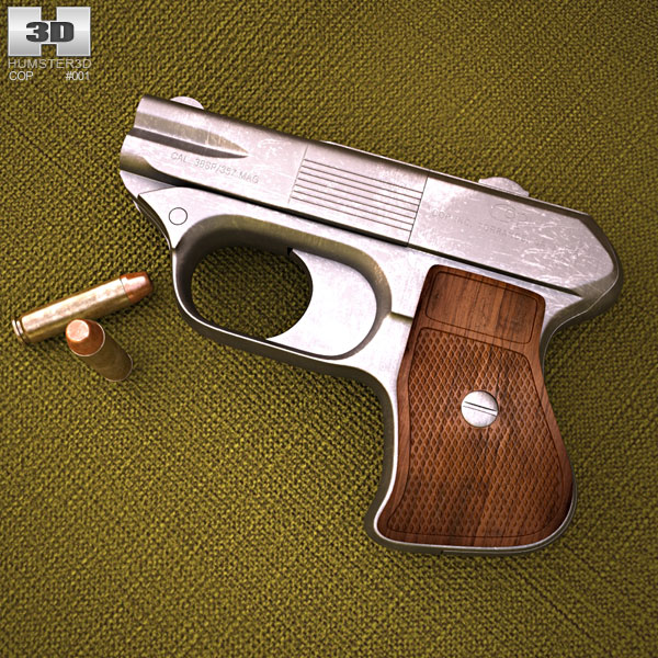 COP .357 Derringer 3D model