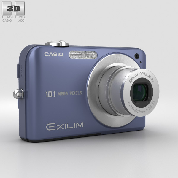 3D model of Casio Exilim EX- Z1050 Blue