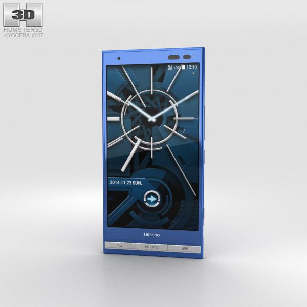 Kyocera Urbano V01 Blue 3D model