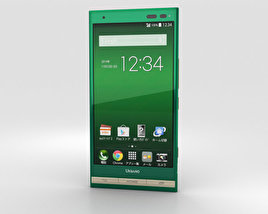 3D model of Kyocera Urbano V01 Green
