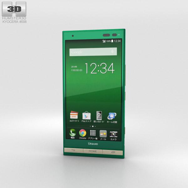 Kyocera Urbano V01 Green 3D model