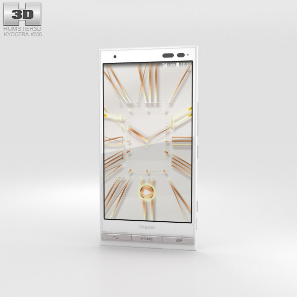 Kyocera Urbano V01 White 3D model