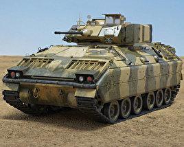 3D model of M2A1 Bradley