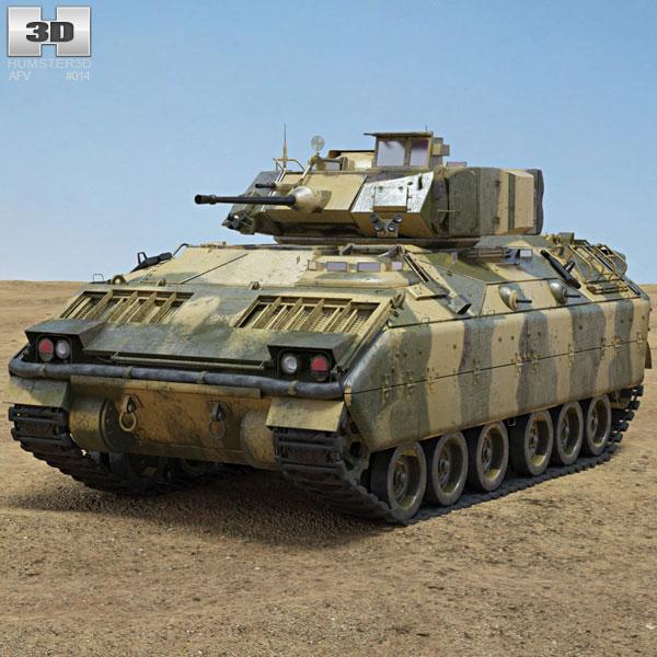 M2A1 Bradley 3D model