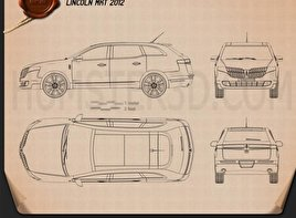 Lincoln MKT 2012 Blueprint