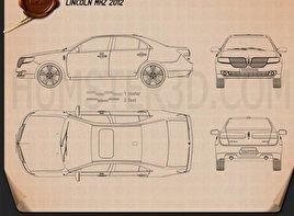 Lincoln MKZ 2012 Blueprint