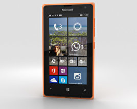 3D model of Microsoft Lumia 532 Orange