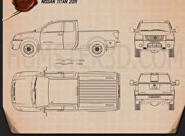 Nissan Titan 2011 Blueprint