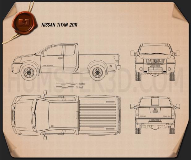 Nissan Titan 2011 Blueprint