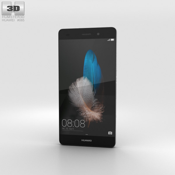 Huawei P8 Lite Black 3D model