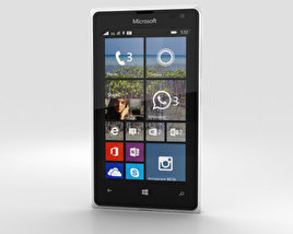 3D model of Microsoft Lumia 532 White