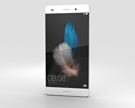 3D model of Huawei P8 Lite White