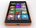 Microsoft Lumia 540 Orange 3d model