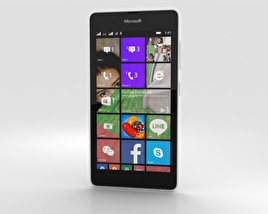 3D model of Microsoft Lumia 540 White
