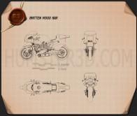 Britten V1000 1991 Blueprint