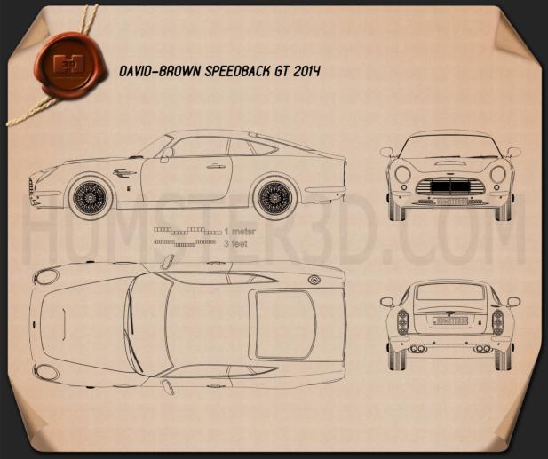 David Brown Speedback GT 2014 Blueprint