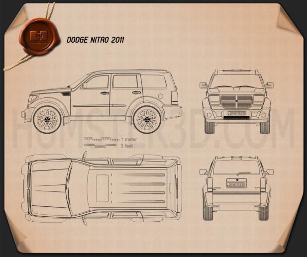 Dodge Nitro 2011 Blueprint