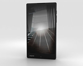 3D model of Sharp Aquos Xx Black