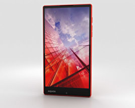 3D model of Sharp Aquos Xx Red