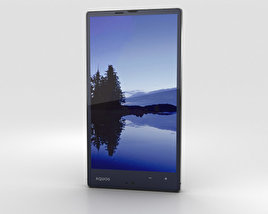 3D model of Sharp Aquos Xx 304SH Black