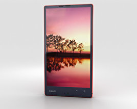 3D model of Sharp Aquos Xx 304SH Red