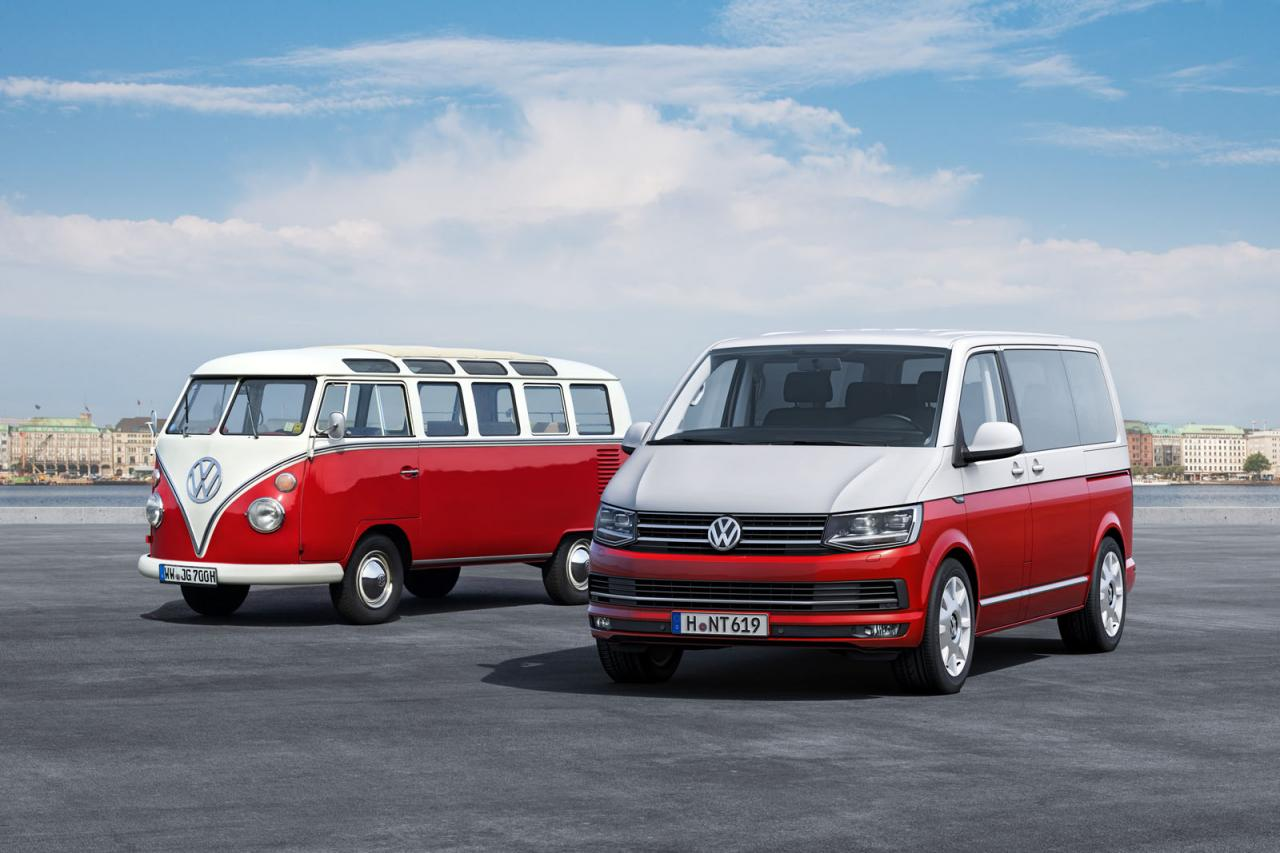 first and the latest models of the Transporter