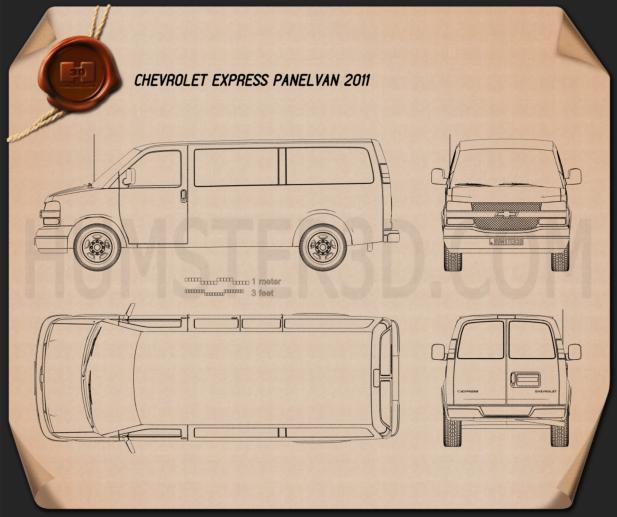 Chevrolet Express 2011 Planta