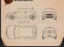 Mini Cooper 2011 Blueprint