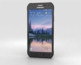 3D model of Samsung Galaxy S6 Active Gray
