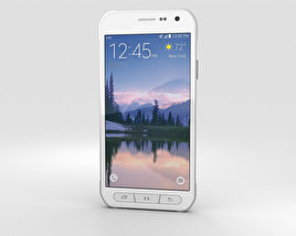3D model of Samsung Galaxy S6 Active White
