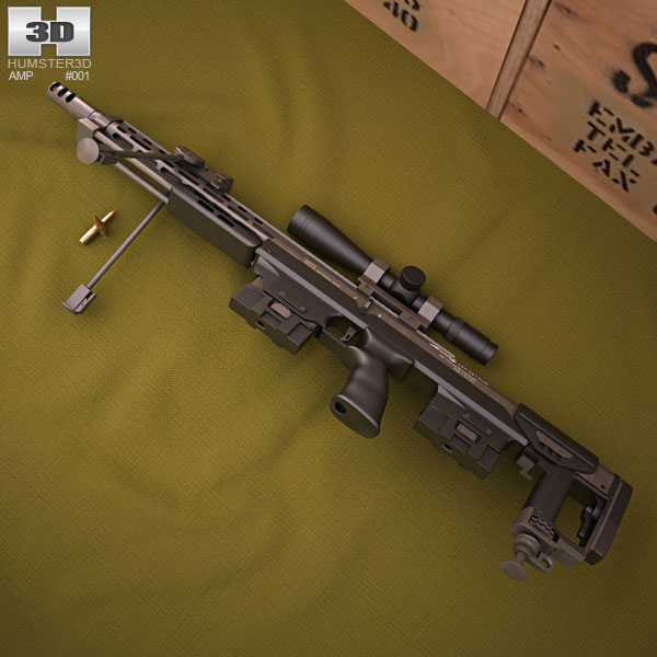 DSR-Precision GmbH DSR-1 3D model