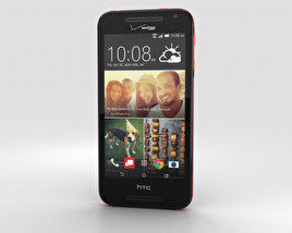 3D model of HTC Desire 612 Black