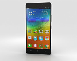 3D model of Lenovo A7000 Onyx Black