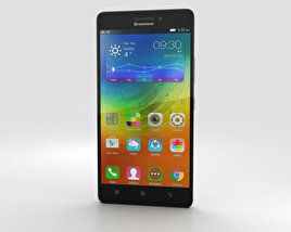 3D model of Lenovo A7000 Pearl White