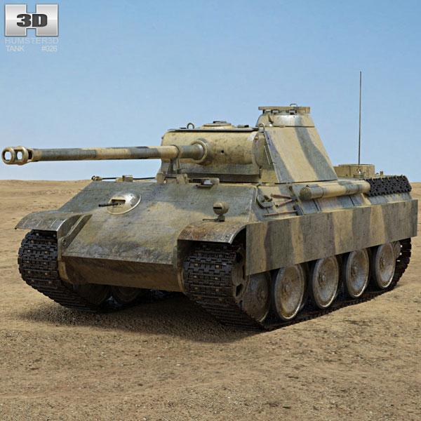 Panther Tank 3D model