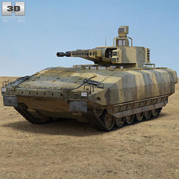 Puma (IFV) Infantry Veicolo da Combattimento Modello 3D