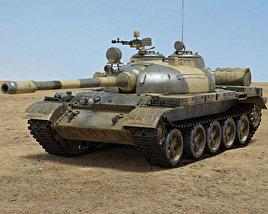 3D model of T-55