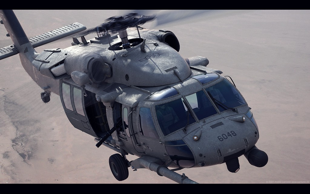 HH-60G Pave Hawk Medevac by Andre Cantarel