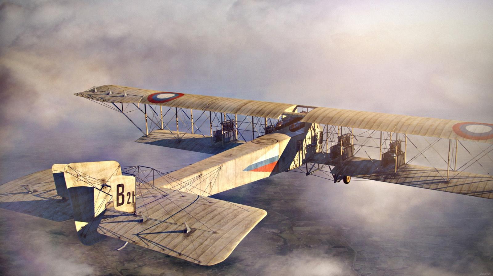 Aircraft by Yuri Marsakov